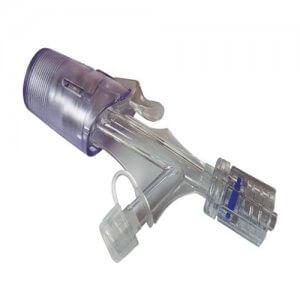 Y-Clic Luer Lock Tuohy Borst Adaptador em Y